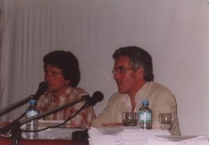 PEDRO DELGADO Y SERGIO BARCE