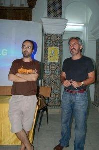 Mohamed Chrif Tribak & Sergio Barce