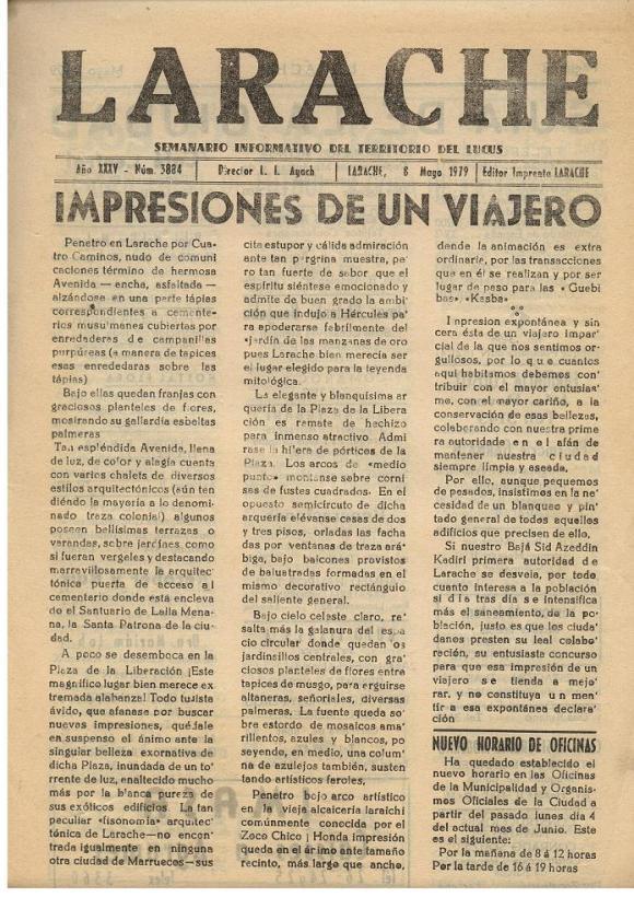 22 de mayo 1979:
