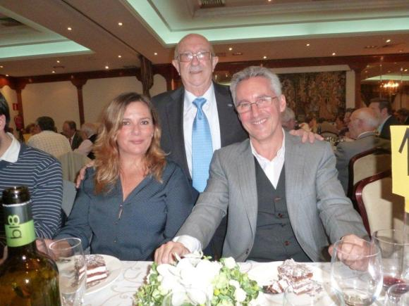 Ana Berrocal, Pepe Edery y Sergio Barce