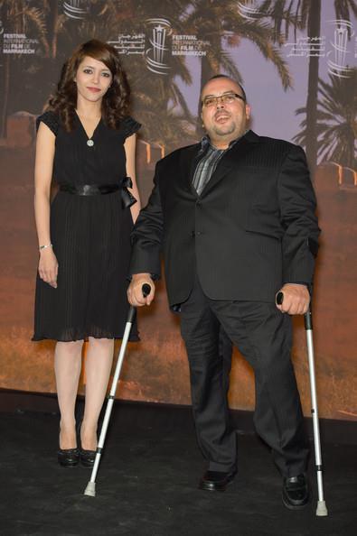 Abdeslam Kelai con la protagonista de su film MALAK, Chaimae Ben Acha