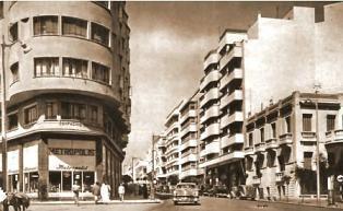 Boulverda Pasteur año 1950 - foto tomada de la web Tanger Express