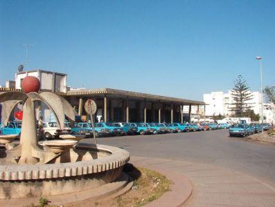 La estación de autobuses