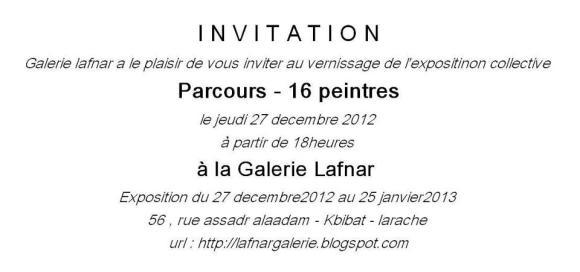 Invitación Lafnar