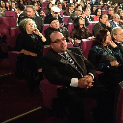 Abdeslam Kelai en el Festival Internacional de Marrakech