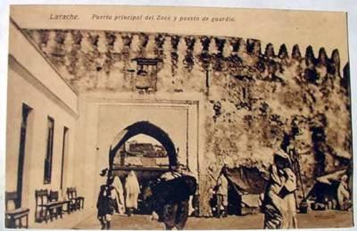 LARACHE - puerta principal del Zoco