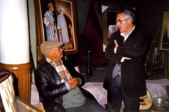 Mohamed Sibari y Sergio Barce