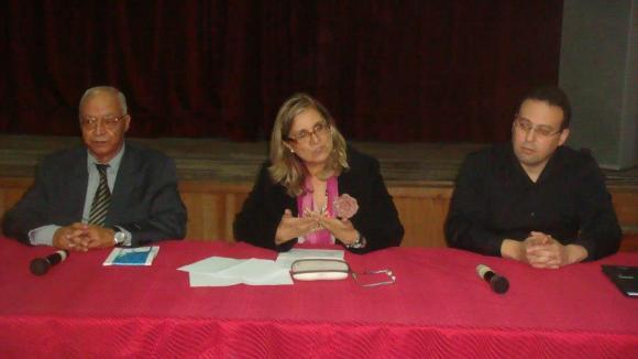 Mohamed Sibari, Ange Ramírez y Mounir Kasmi