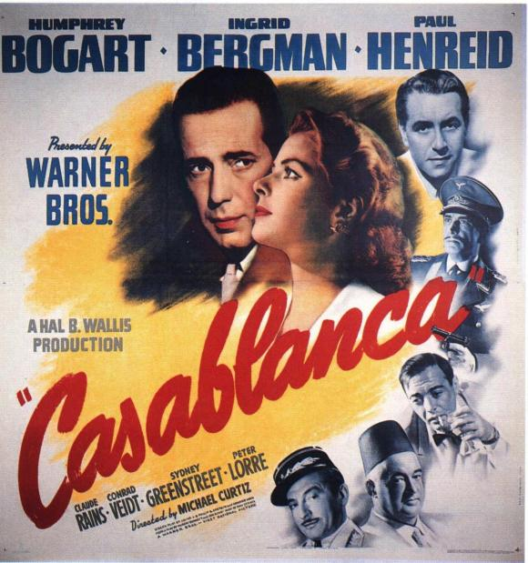 casablanca cartel