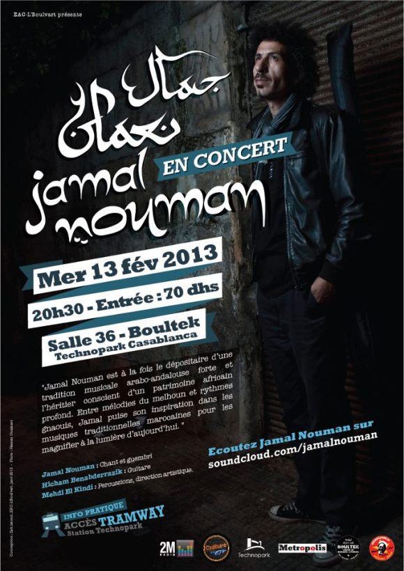 Jamal en concierto