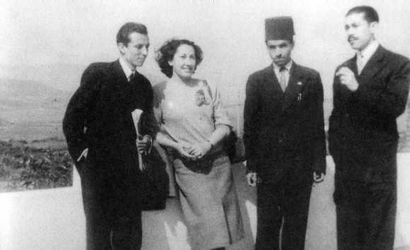 López Gorgé, Trina y unos colaboradores