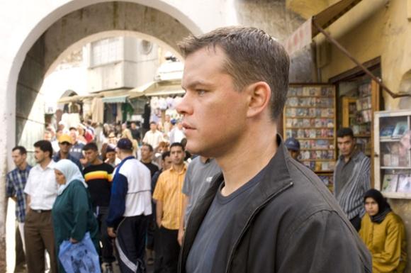 Matt Damon en una escena de , en Tánger
