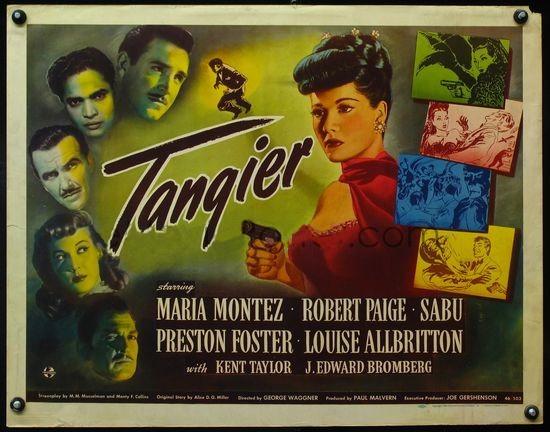 Tangier con María Móntez