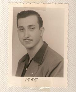Paco Rodríguez en 1954