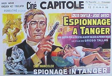 Espionnage á Tanger