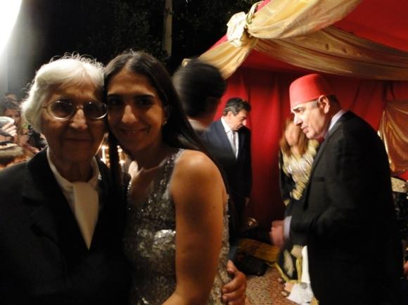 Sara Fereres y su nieta Sara