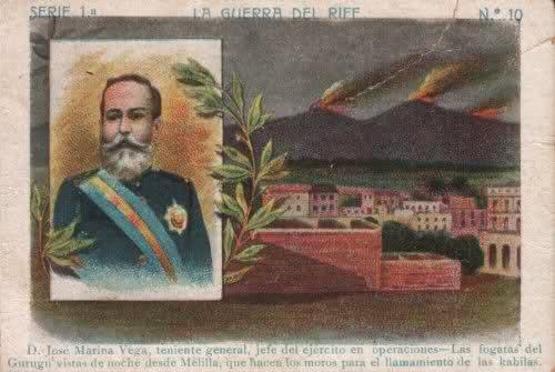 Teniente General JOSE MARINA VEGA