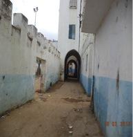 Calle que conduce a Bab Bhar