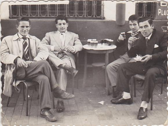 CAFE CENTRAL - Diego Ramos Guegue, Pepe García Gálvez, Manolo y Juan