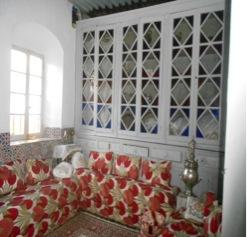Interior casa de la familia Chouirdi