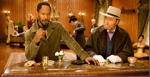 Los dos Django: Jamie Foxx y Franco Nero