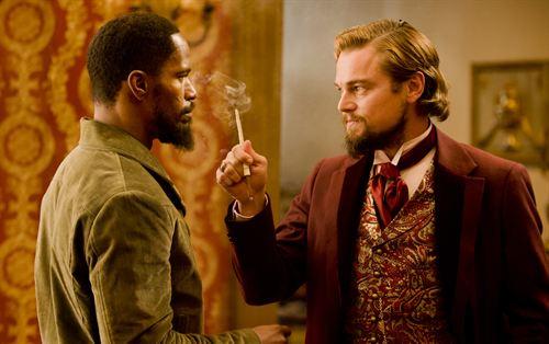Jamie Foxx y Leonardo DiCaprio