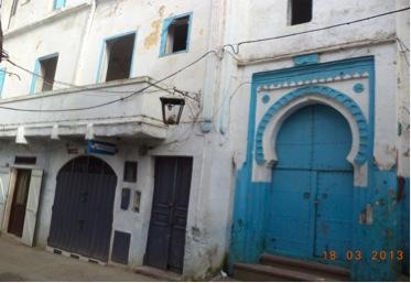 Zawia de Moulay Abdelkader y antigua casa del mecánico dentista León