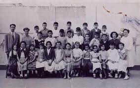 1952, Alianza Israelita de Larache con doña Camila Chocron (foto tomada de la web de Soly Anidjar)