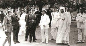 El alto comisario García Valiño con García Figueras