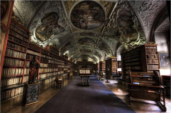 Biblioteca del Monasterio de Strahov - Praga