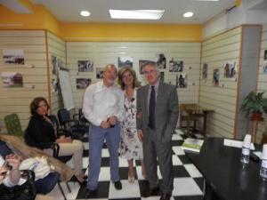 Fernando de Ágreda, Angeles Ramírez y Sergio Barce