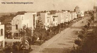 Larache - antigua avenida Reina Victoria, hoy Mohamed V
