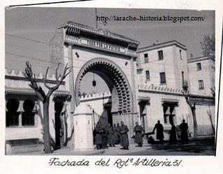 Larache - artillería