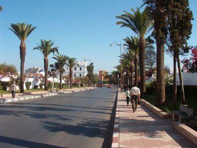 Larache - avenida Mohamed V