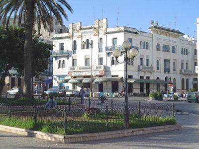 Larache - plaza de la Liberación / antigua de España