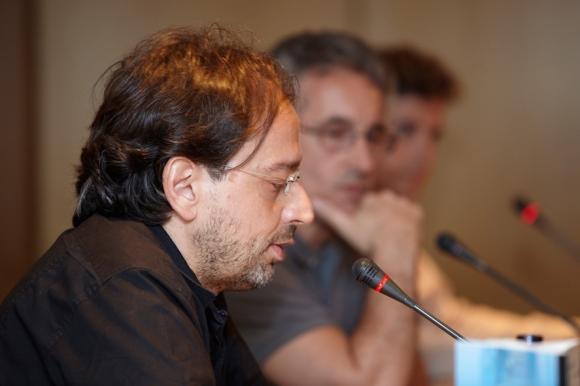 Pablo Cantos, presentando mi novela