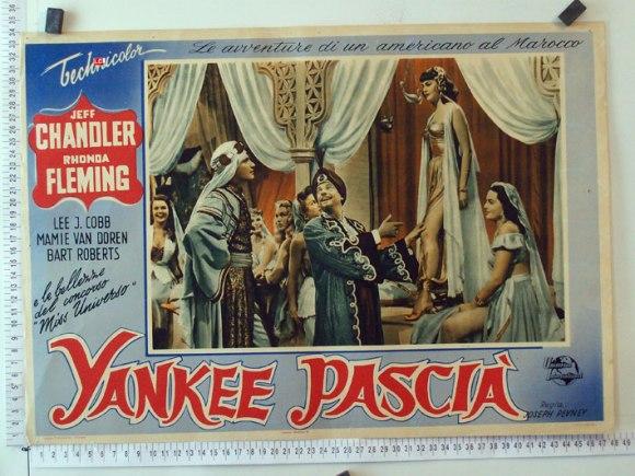 Cartel italiano de YANKEE PASHA