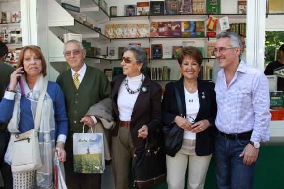 Carmen Allué, Rafael Núñez, Carlota Martí, Esperanza Manso Osuna y Sergio Barce