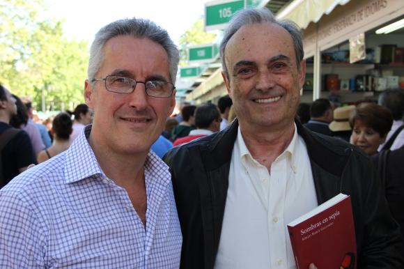 Sergio Barce y el doctor Picazo