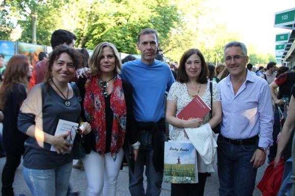 Rosa, Berry, Alfonso, Menchu y Sergio Barce