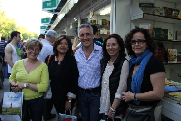 Mari Reyes Pérez, Vicky Fernández Moraga, Sergio Barce, Cristina Galbis y Gabriela Grech