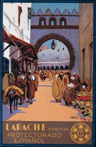 Cartel de LARACHE - obra de MARIANO BERTUCHI
