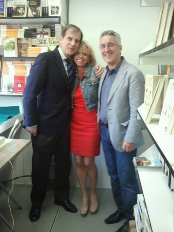 Luis Cazorla, Maria Antonia Rubio y Sergio Barce