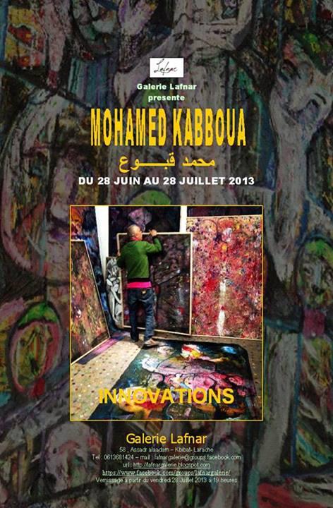 Mohamed Kabboua exposición