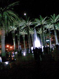 plaza liberación de noche