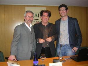 Sergio Barce, Julio Rabadán y Enrique Sánchez