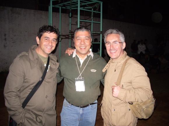 EMILIO GALLEGO, LOTFI BARRADA Y SERGIO BARCE