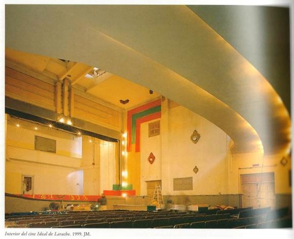 Interior del Cine Ideal - foto de José Morón