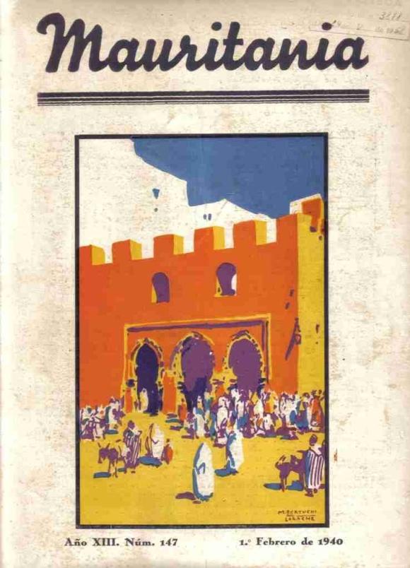 La Alcazaba de Larache como portada de la revista