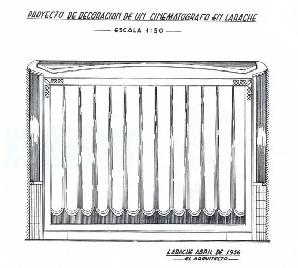 09 Larach.1956 proy.de decoracion de un cinematograforet